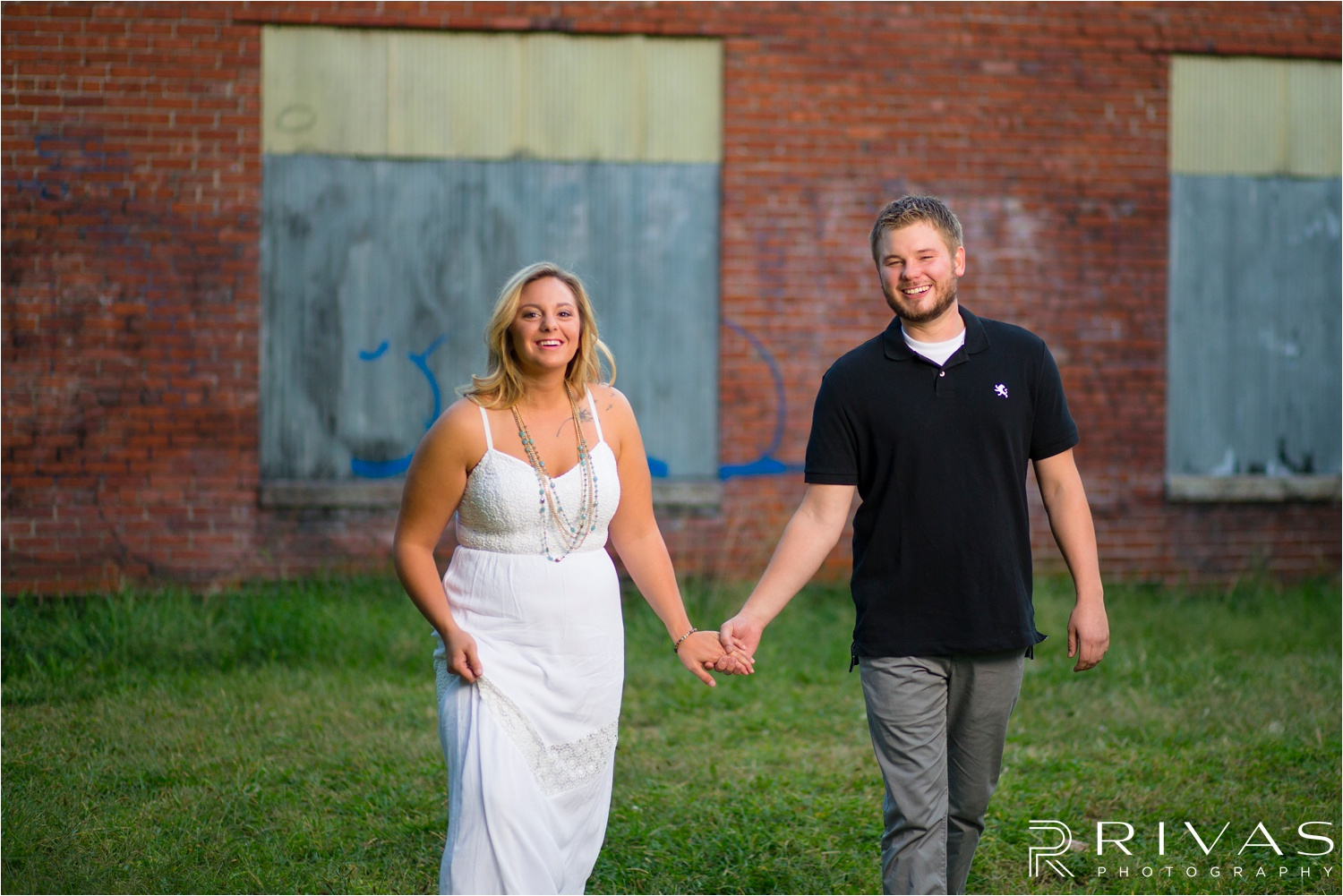 crossroads engagement session