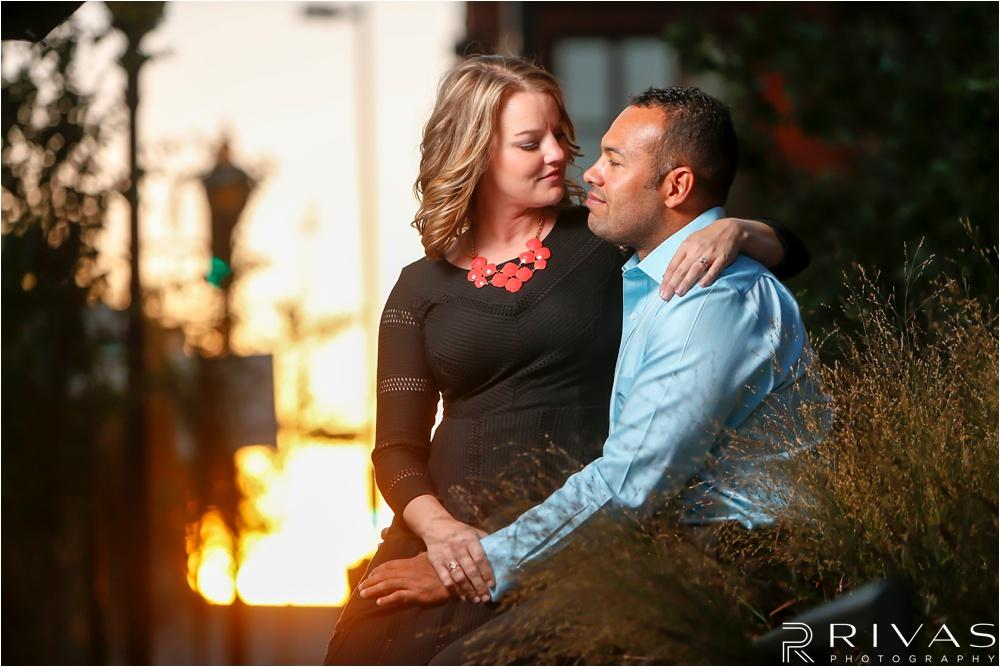 Kansas City Wedding Photographer | Loose Park Engagement Session | Downtown Kansas City engagement pictures