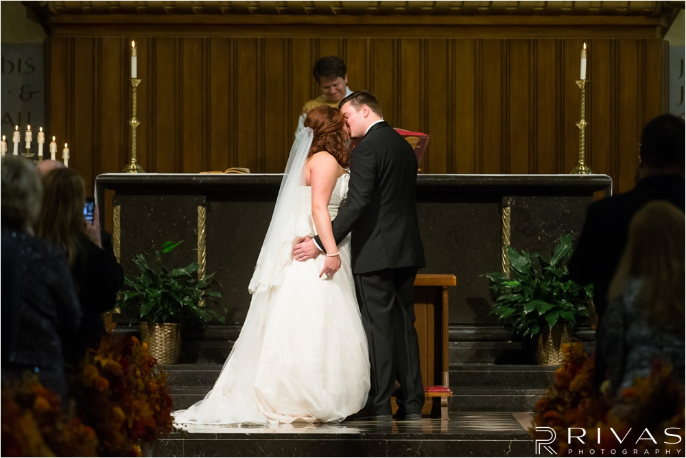 Reception at The Urban Event - St. Peter's Church Wedding - Kansas City Wedding Photographers