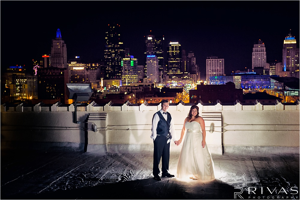 Reception at The Urban Event - Kansas City Wedding Photographers