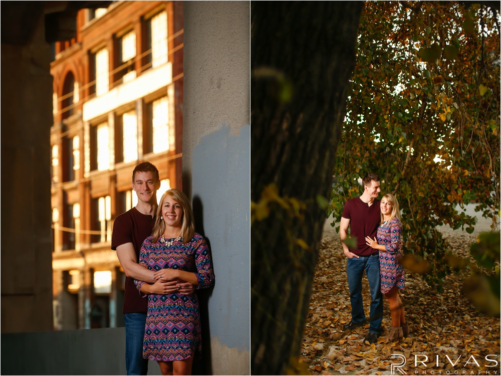 West Bottoms Engagement Session | Kansas City Wedding Photographers | Downtown KC Engagement Pictures
