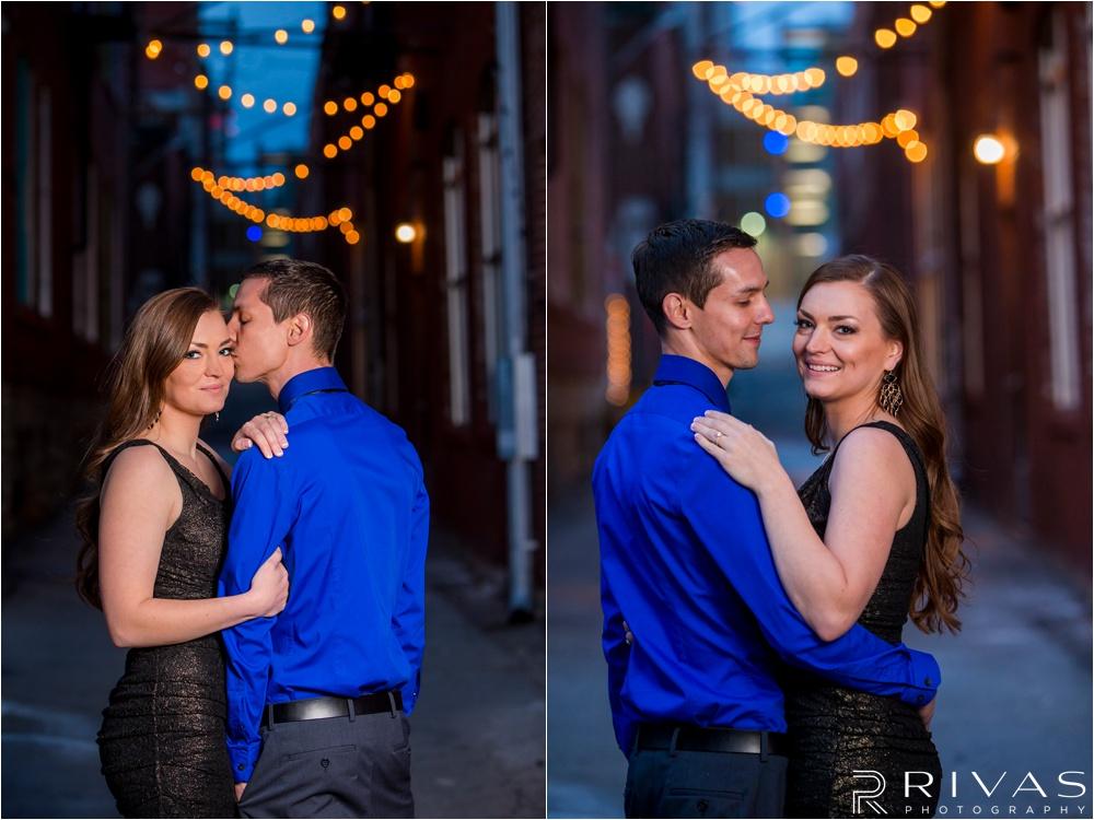 Downtown KC Engagement | Kansas City Wedding Photographers | Crossroads Engagement Pictures