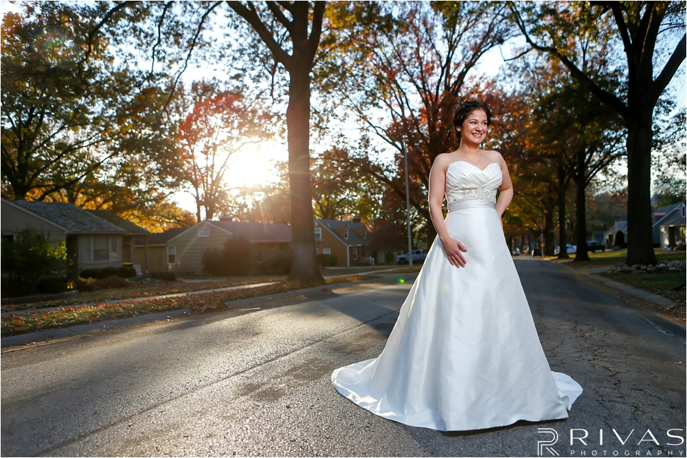 Kansas City Wedding Photography | Intimate Fall Wedding | Grand River Chapel Wedding - Liberty MO