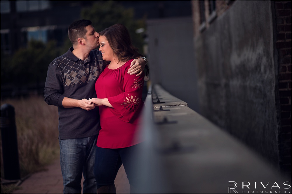 Downtown Engagement Session - Kansas City Wedding Photographers