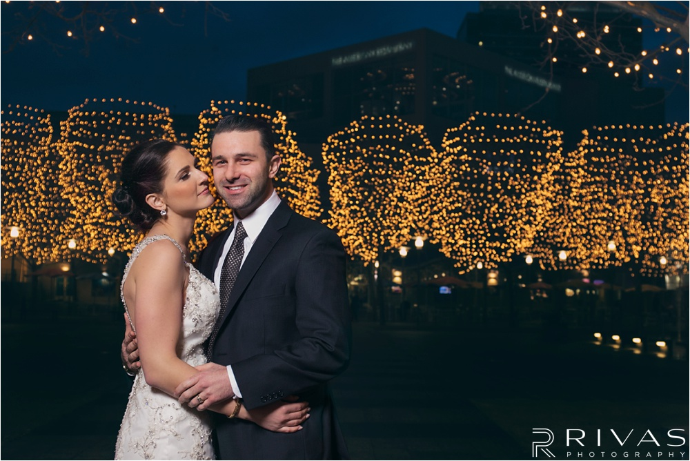 chic winter wedding - kansas city wedding photographer