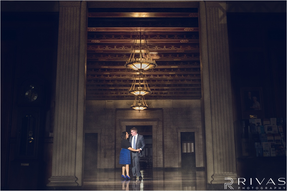 KC Scottish Rite Engagement Session - Kansas City Wedding Photographer