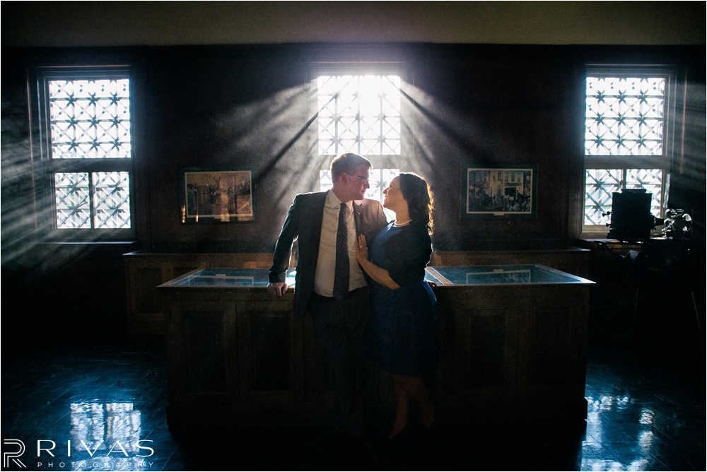 KC Scottish Rite Engagement Session - Kansas City Wedding Photographer