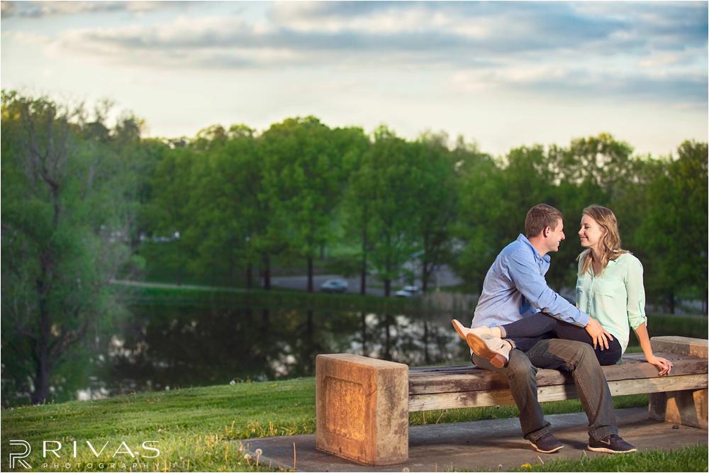 Lawrence Engagement Session - Kansas City wedding photographer