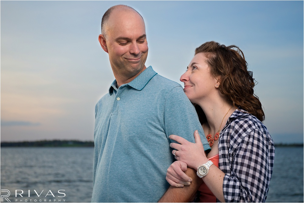 Smithville Lake Engagement Session - Kansas City Wedding Photographers