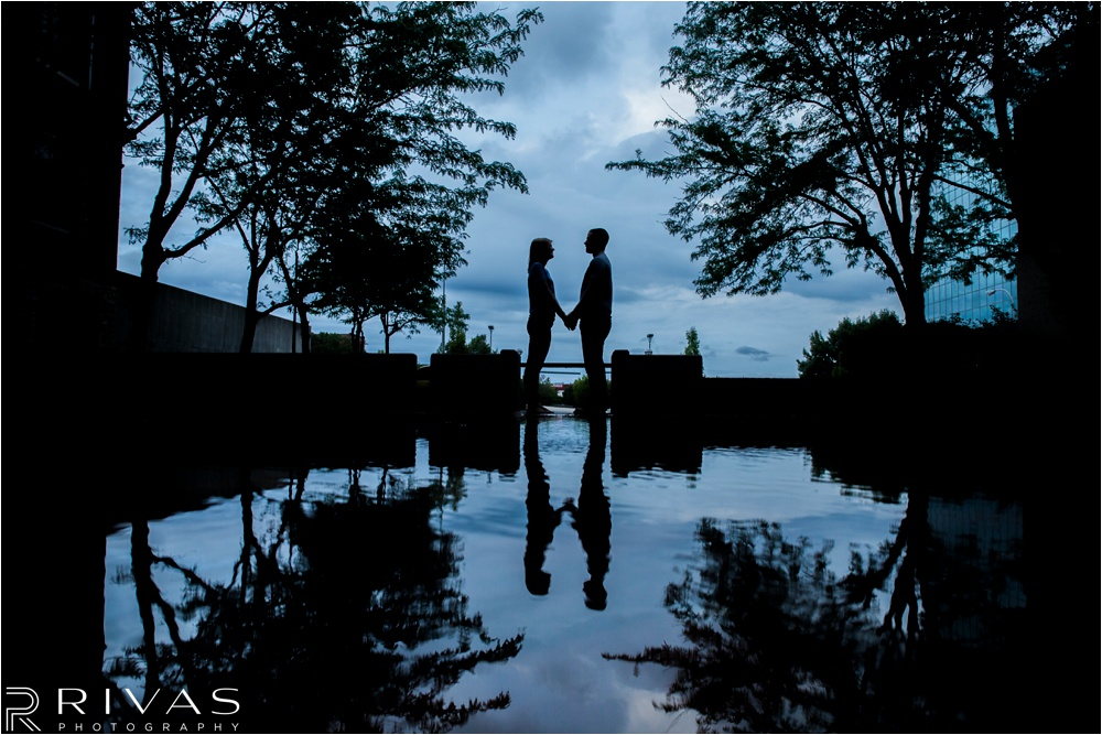 Kansas City Wedding Photographer | casual Kansas City engagement pictures | Downtown Kansas City Engagement Pictures
