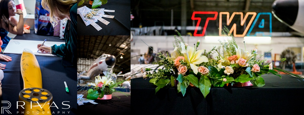 Kansas City Wedding Photographer | national airline history museum wedding