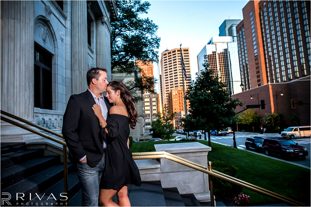 Kansas City Wedding Photography | classic river market engagement session | Kansas City Engagement Photographers