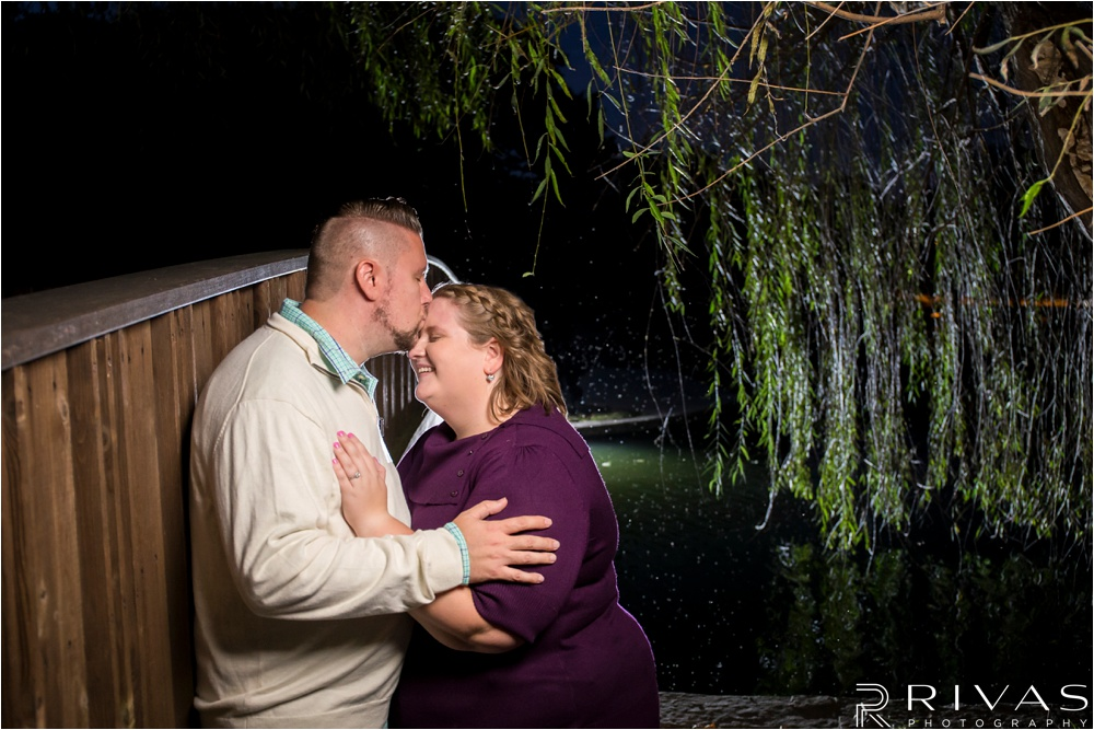 Garment District   Dreamy Loose Park Engagement Photos   Kansas City Wedding Photographer