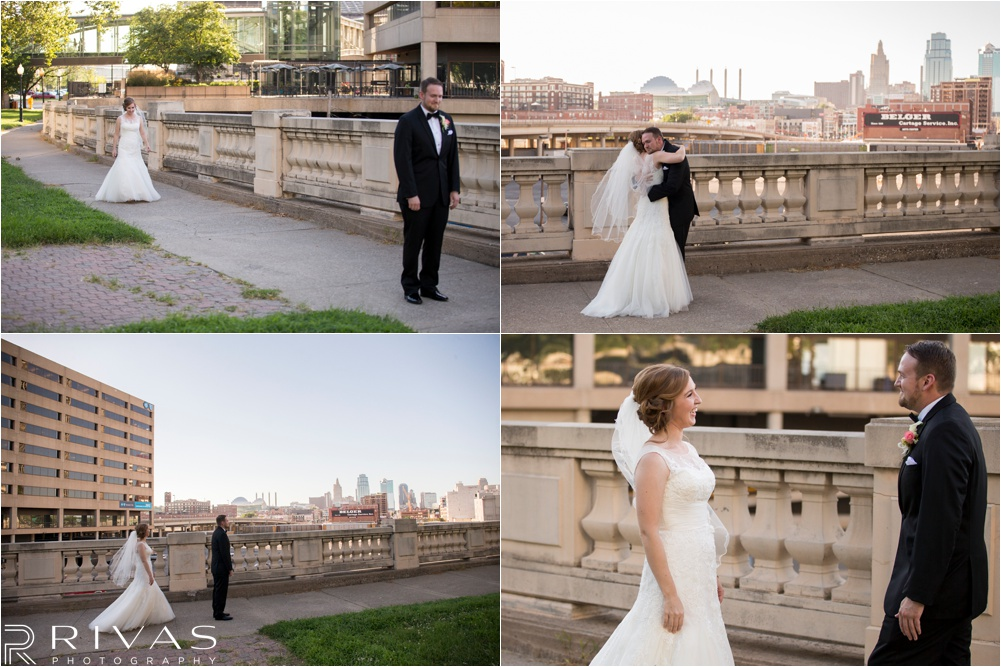 Kansas City Wedding Photographers | Kansas City Western Auto Building Rooftop Wedding | Kauffman Center Wedding Pictures