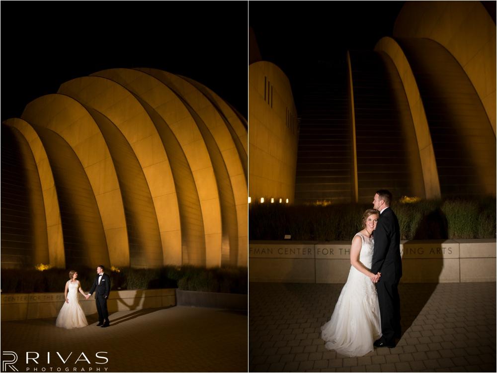 Kansas City Wedding Photographers | Kansas City Western Auto Building Rooftop Wedding | Kauffman Center Wedding Pictures