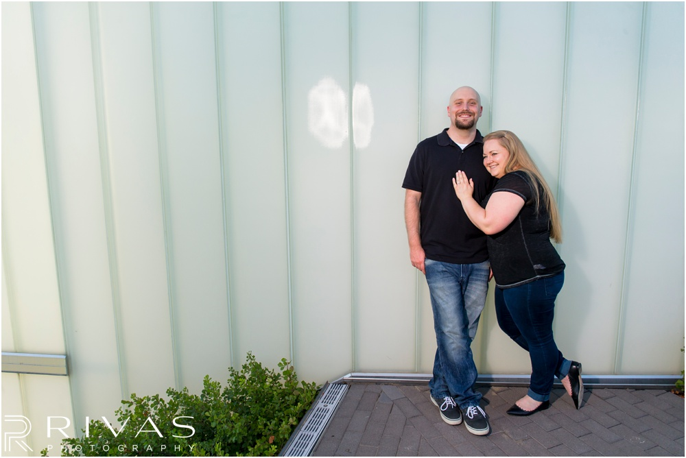 Kansas City Wedding Photographers | Carefree Kansas City Engagement Session