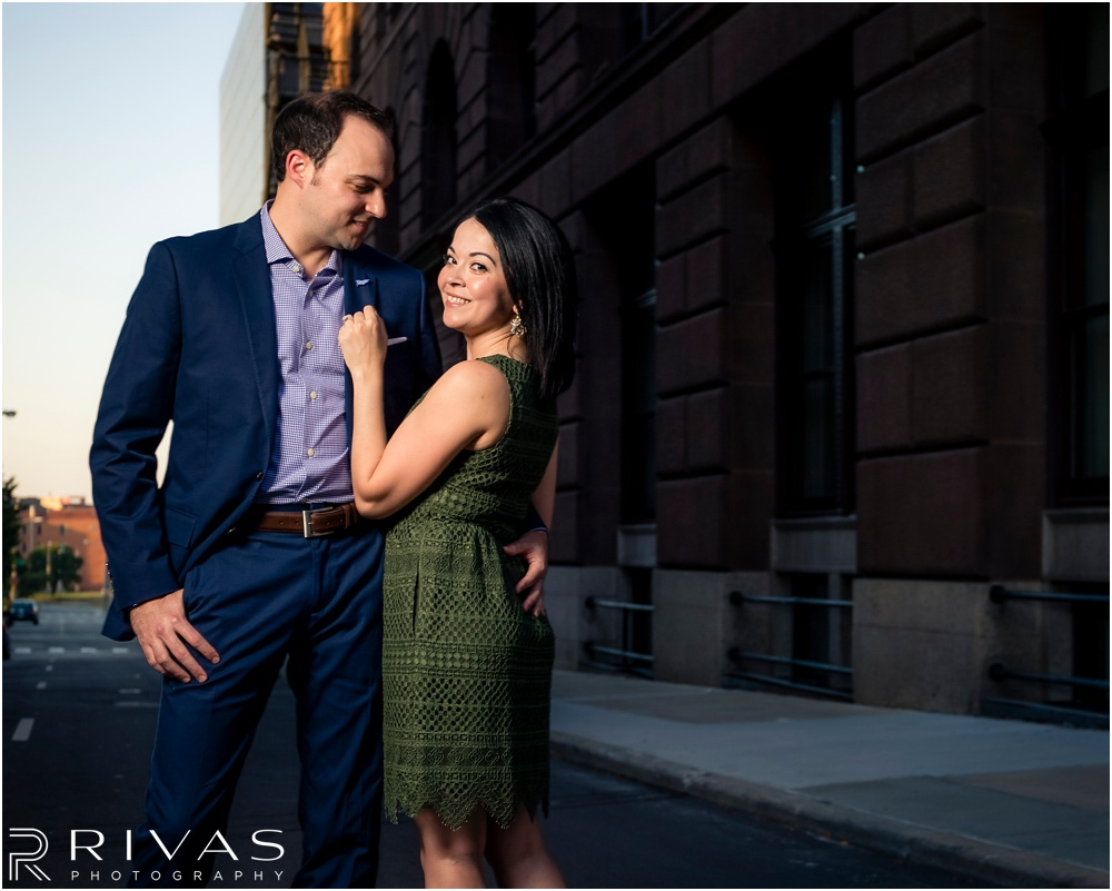 Kansas City Wedding Photographers | KC Library District Engagement Session | Kansas City Engagement Session Locations