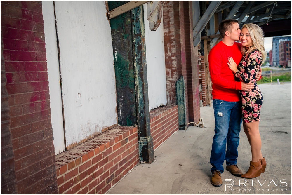 Kansas City Wedding Photography | KC West Bottoms Engagement Session | Berkley Riverfront Park