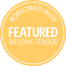 borrowed & blue featured wedding photographer