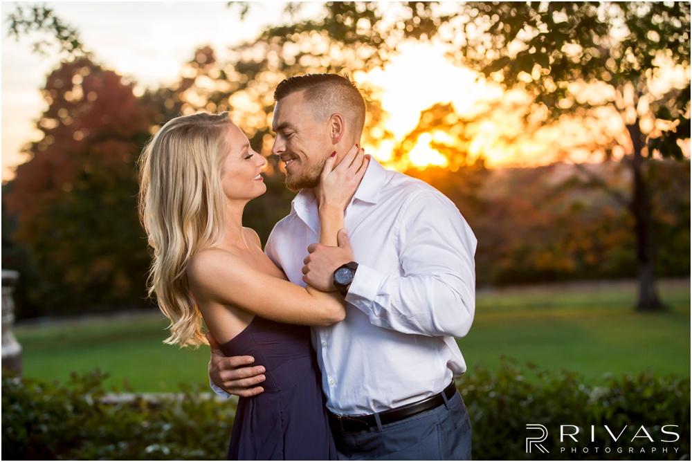 KC Wedding Photographers | Longview Mansion engagement session | Rivas Photography