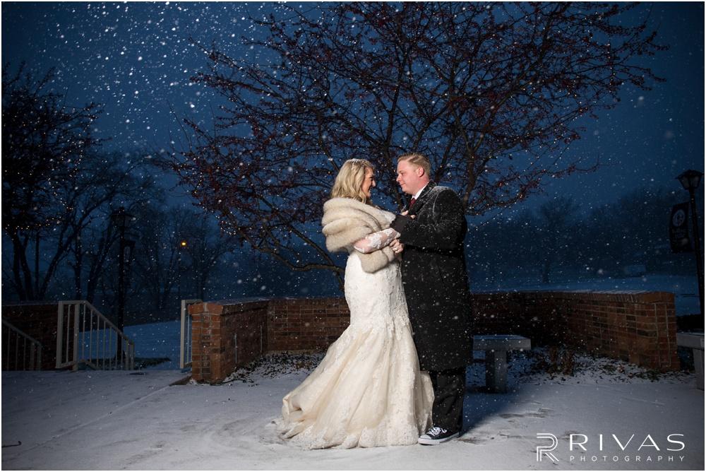 Kansas City Wedding Photographers | romantic Kansas City winter wedding | Rivas Photography