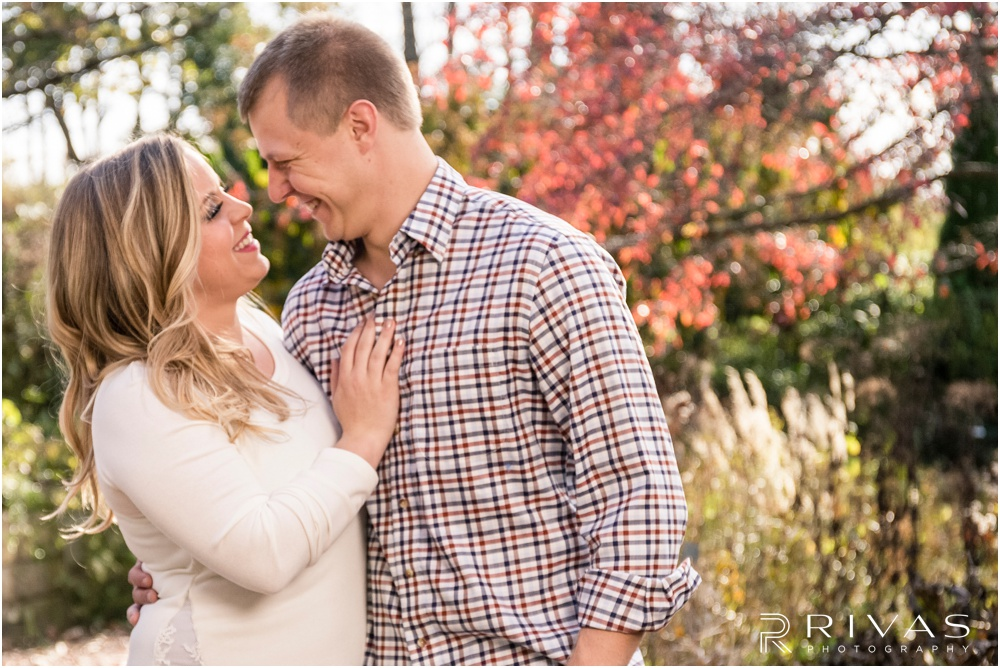 Kansas City Wedding Photography | Powell Gardens Engagement Pictures | Rivas Photography