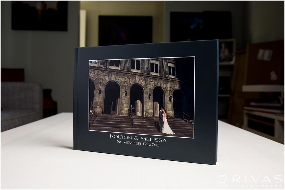 Custom Wedding Albums | Photo of a GraphiStudio Parent Book with custom cover.